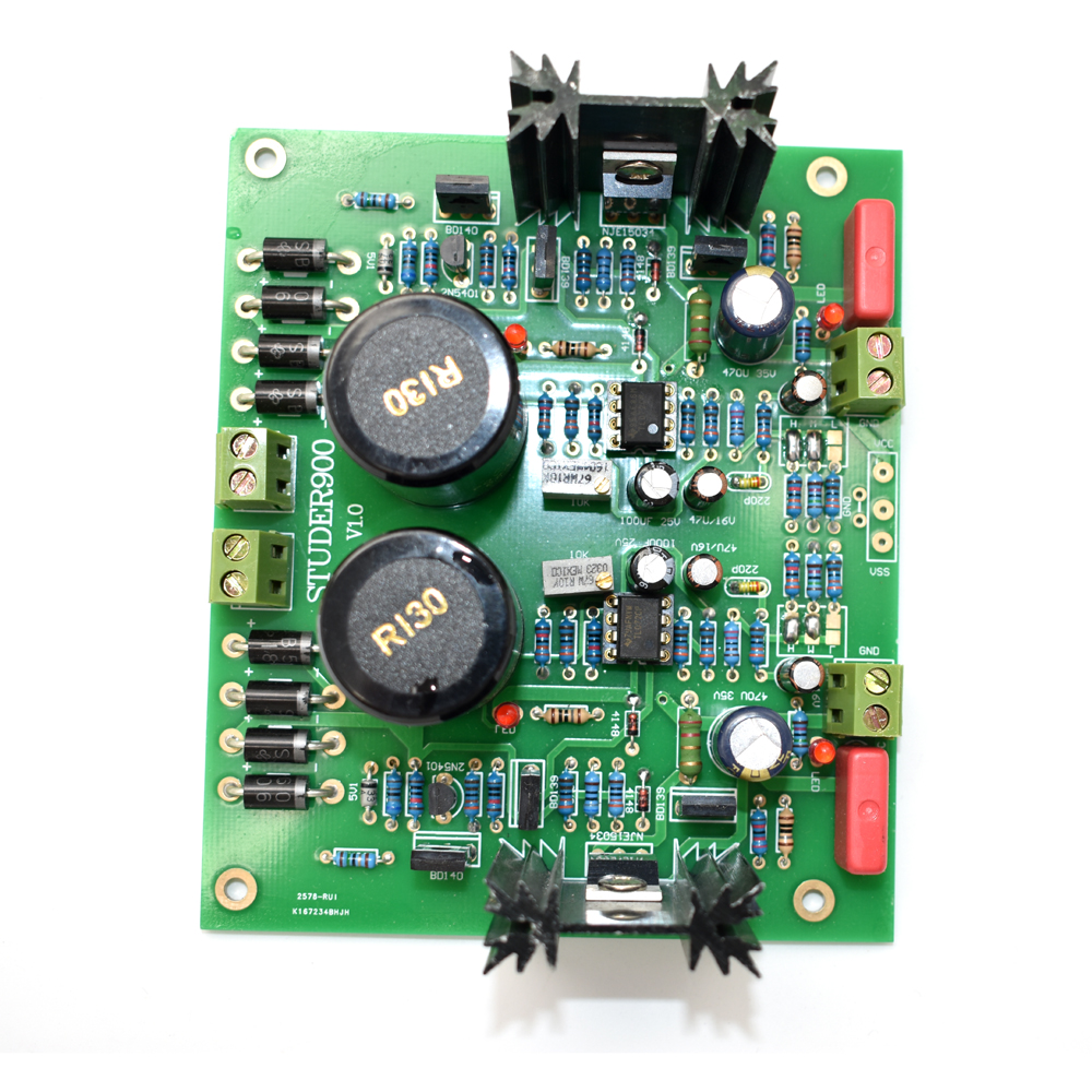 5-28V STUDER900 Regulator Power supply board Can assembled into double  power board DIY kit A3-006