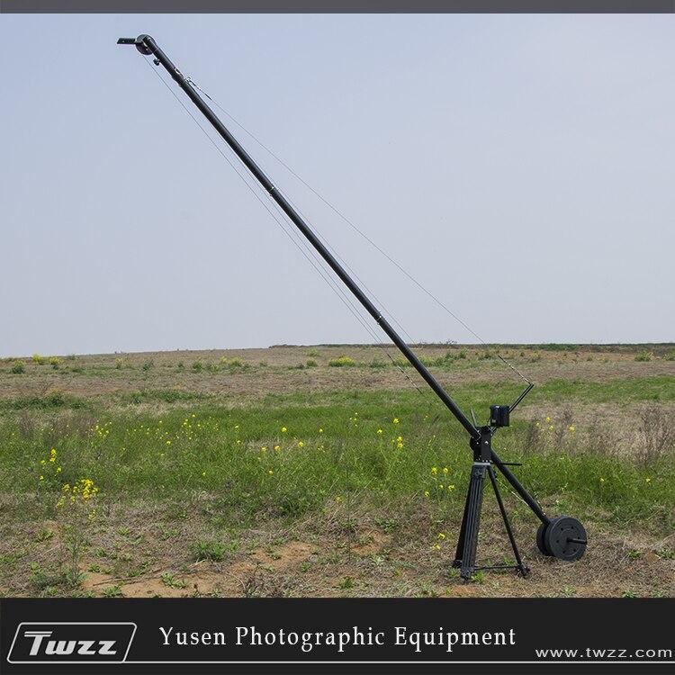 METRX 4 mètres de flèche de grue en Aluminium tête inclinable Portable longueur réglable professionnel DSLR caméra vidéo grue bras de flèche