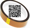 2 rollo 100ft 30 MM * 33 M * 0.055mm (grosor) de Oro BGA Tape Calor Cinta de Alta Resistente A la temperatura, Cinta de Aislamiento Térmico