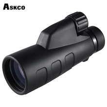 Askco 15x50 High Times Optics Monocular Telescope Waterproof For Hunting Telescope Binoculars High Power With BaK4 Prism M76