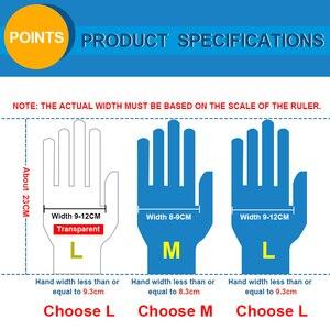 Image 5 - 5 זוגות של כחול גומי אנטיבקטריאלי sterilizable לשימוש חוזר אלסטי אצבע כפפות ריס הארכת איפור כלי אבזרים