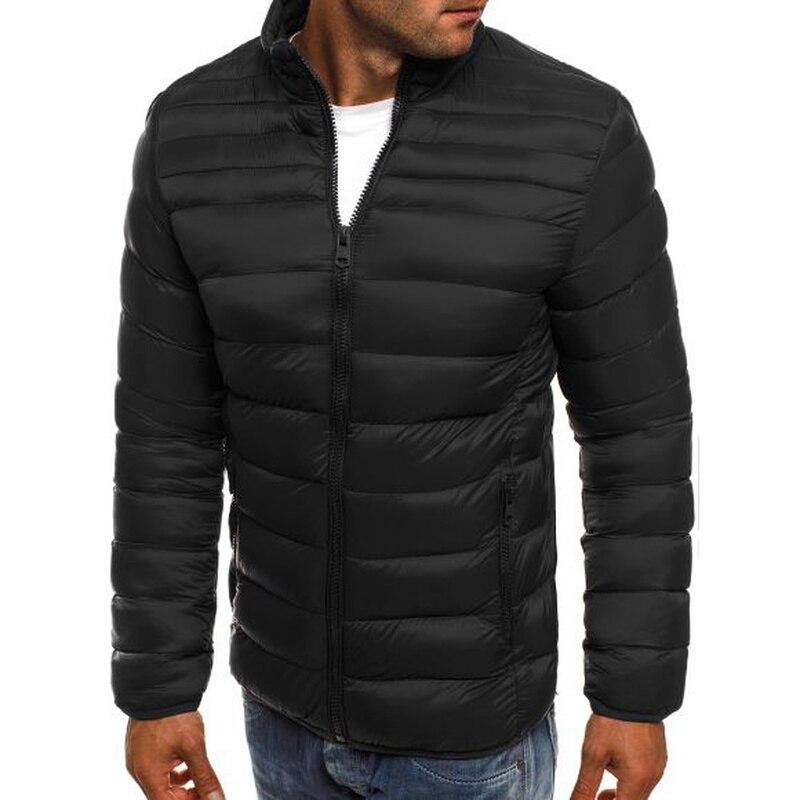 ZOGAA Plus Size Men   Parka   Jacket Casual Warm Outwear Brand Slim Fit Overcoat Men Winter Coats Windbreaker   Parkas   Streetwear Men