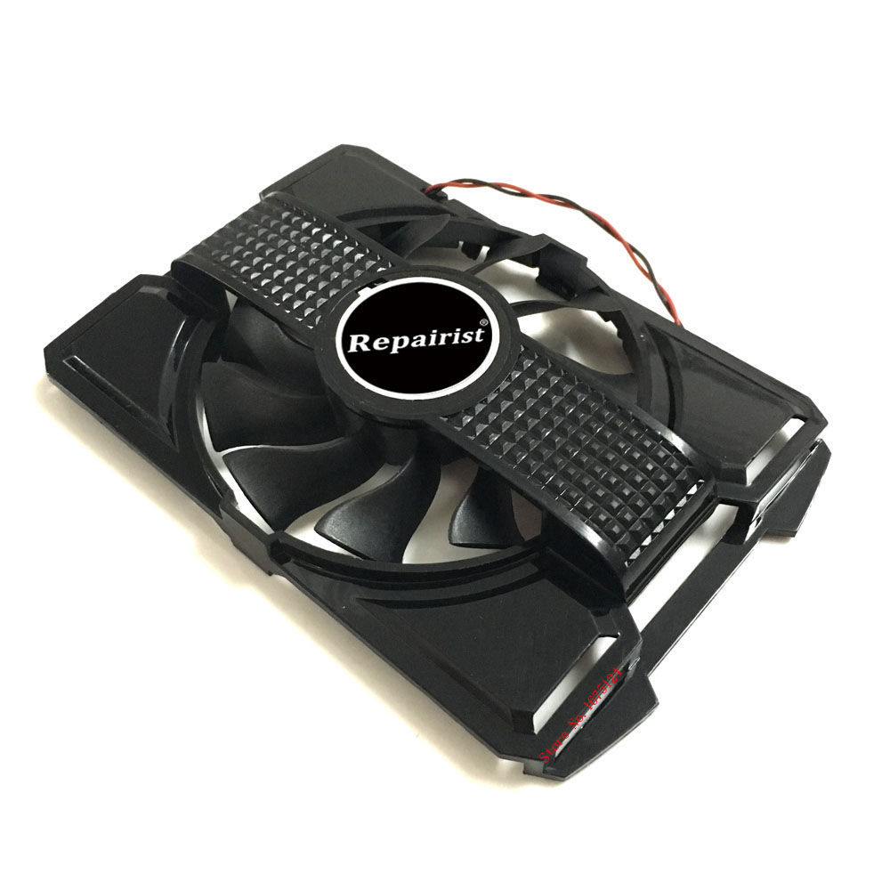 Computer VGA Cooler Fan With Frame For ASUS EN9600GSO/TC512/DI/256M/A EN9600GSO Vedio Ca ...