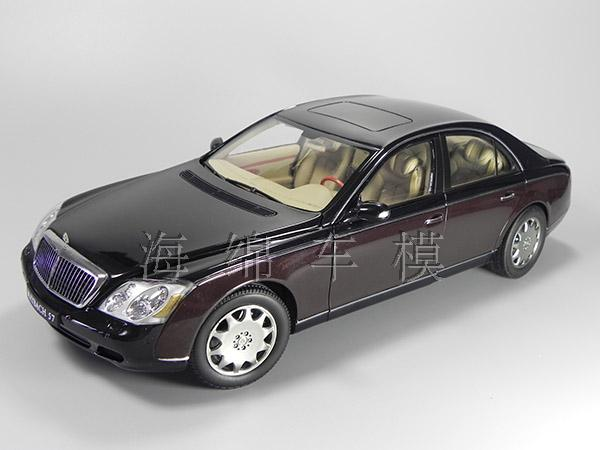 * Only One! Rare Reddish Black 1:18 AutoArt AA Maybach 57 SWB Diecast Model Car Luxury Collection Limitied Edition