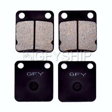 For SUZUKI LT-A 500 FK2 Vinson 4WD 2002 2003 2004 2005 2006 2007 Motorcycle Front Rear Brake Pads Disks