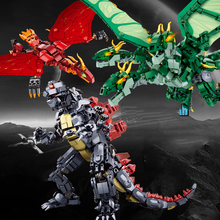 Godzilla King The Monsters Dinosaur Jurassic Dino Dragon World Figure Building Blocks Bricks Compatible With Legoing