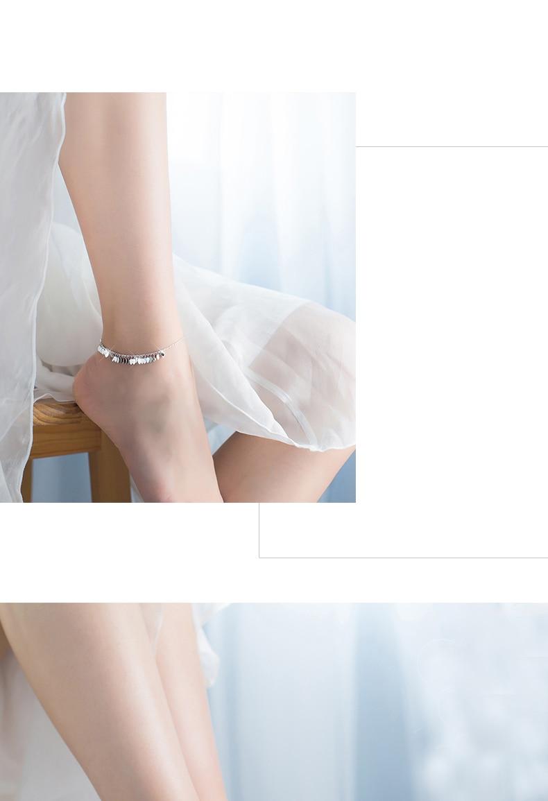 Mloveacc 100% 925 prata esterlina pulseira jóias