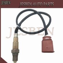 JESBEN 058906265C Lambda Oxygen SENSOR Fit สำหรับ VW Passat Golf Beettle Audi A4 B6 8E 1.8 2.0 OE #0258006305 0258006306 058906265D