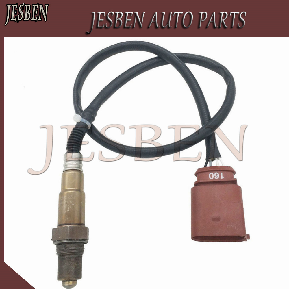 JESBEN 058906265C Lambda Oxygen Sensor Fit For VW-Passat-Golf-Beettle-Audi-A4-B6-8E 1.8 2.0 OE# 0258006305 0258006306 058906265D