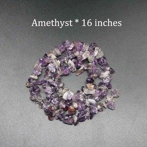 Бисер из натурального камня, фишки 5-8 мм, Агаты, туркуолса, нитка 16 дюймов, lrnormal, гравийная бусина, Diy принадлежности для браслетов, для изгото...