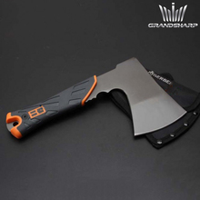 Hunting Camping Hatchet Garden Supplies Outdoor Stainless Steel Survival Tactical Survival Felling Axe Tool with Nylon Sheath