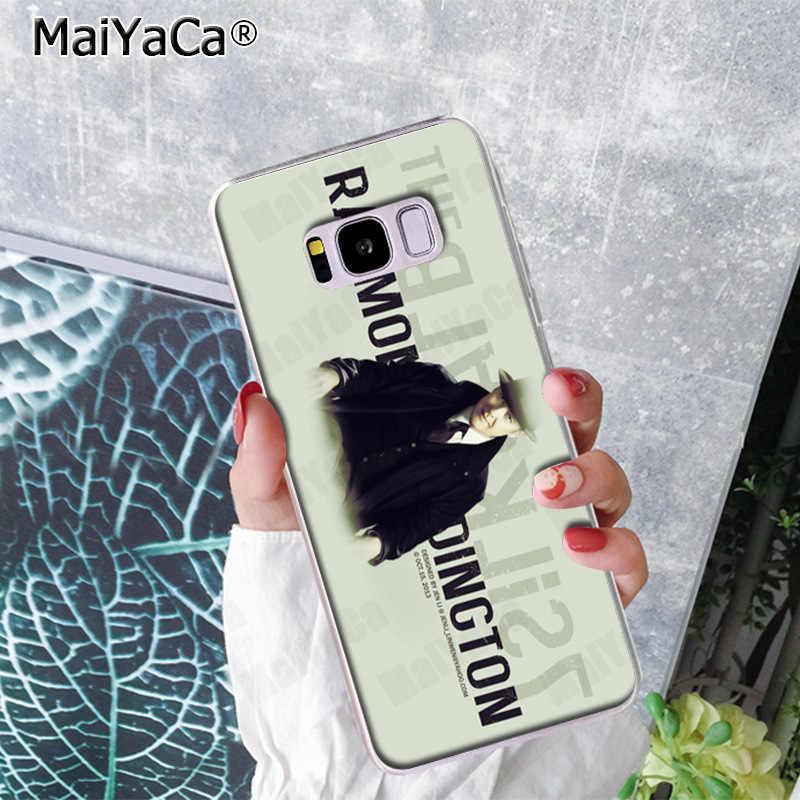 MaiYaCa و القائمة السوداء مضحك جراب هاتف ملون لطيف الغطاء الخلفي لسامسونج S9 S9 plus S5 S6 S6edge S6plus S7 S7edge S8 S8plus