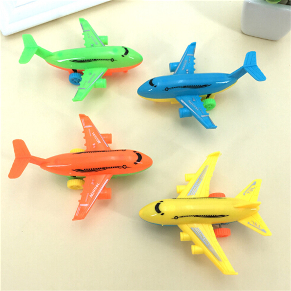 Children Plane Model Outdoor Fun Toys 2Pcs Hand Launch Throwing Glider Air Bus Aircraft Inertial Foam EPP Airplane Toy