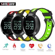 Sowmow DM58 Водонепроницаемый Smart Браслет Heart Rate крови Давление Смарт Браслет фитнес трекер спортивные смарт-браслет для IOS Android