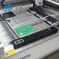 Настольный светодиодный сборка SMT IC Chip Mounter SMD сборочный станок с 54 подачи расположение и 4 камеры