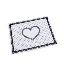 7 färger silikonpott handhållare nagelkonstsalong praktik kudde snörning bord tvättbar matta fällbar tvättbar manikyr verktyg