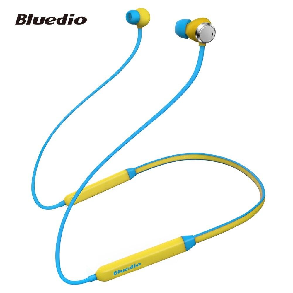 2018 Bluedio Nouvelle TN Active Noise Cancelling Sport Bluetooth Écouteurs/Casque Sans Fil pour téléphones et musique