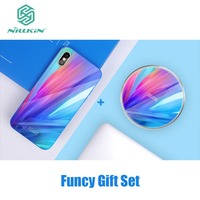Nillkin Fancy Set 10W Tempered Glass Wireless Charger for iPhone X 10 Tempered Glass Panel Nilkin for iPhoneX 2A Charging Cable