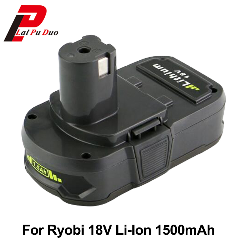 Hot! New Li-Ion Power tool Battery Replacement 18v 1.5Ah for Ryobi:P104,BPL-1820G,P102,BPL-1815,P103,BPL-18151,P105,BPL-1820 стоимость