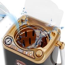 Multifunction Gold Blender Washing Machine Kids Washing Machine Toy Beauty Sponge Brushes M