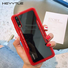 Heyytle Transparent Case For Huawei P20 P30 Pro Mate 10 20 Lite Nova 3 3i 4 Shockproof Glass Cover For Honor 8x 10 Y9 Case Funda(China)