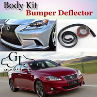Bumper Lip Deflector Lips For Lexus IS IS200 IS250 IS300 IS350 For TOYOTA Altezza Front Spoiler Skirt For Car Body Kit / Strip