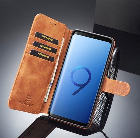 Suche Nach FlüGen Leder Flip Brieftasche Foto Halter Zurück Tpu Fall Abdeckung Für Samsung S8 S10 Stoßfest Fall Für Samsung Galaxy S10 S9 S8 Plus Karte