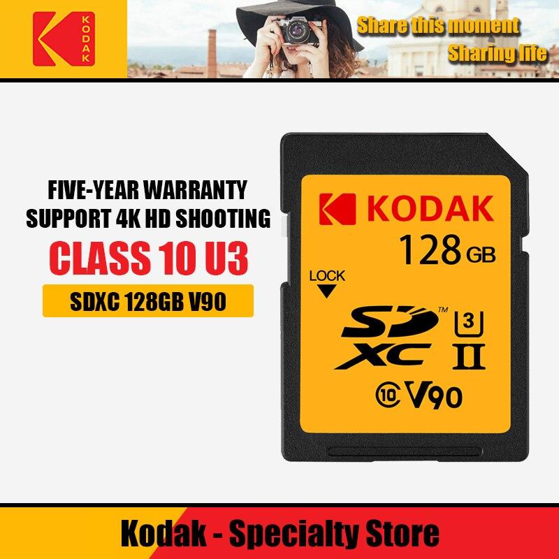 Carte mémoire SanDisk CardSDXC 64 gb carte SD 128 GB C10 U3 V90 UHS-II cartao de memoria carte Flash pour appareil photo 4 K