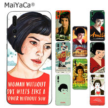 MaiYaCa amelie poster France movie Upscale phone case for Huawei P9 10 plus 20 pro mate9 10 lite honor 10 view10 Mobile Cover(China)