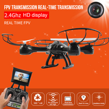 HD WIFI Toys Helicopter Mini Headless RC Helicopter Mode RC Drone UAV New Quadcopter Control With Kids Outdoor 1335 free shipping v911 drone 2 4g 4ch rc helicopter outdoor rc toys v911 helicopter radio control new version plug with 3 batteries