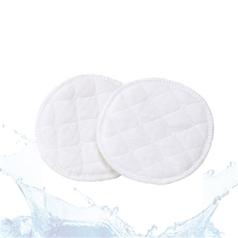 10pcs Bamboo Reusable Breast Pads Nursing Maternity Organic Plain Washable ~*