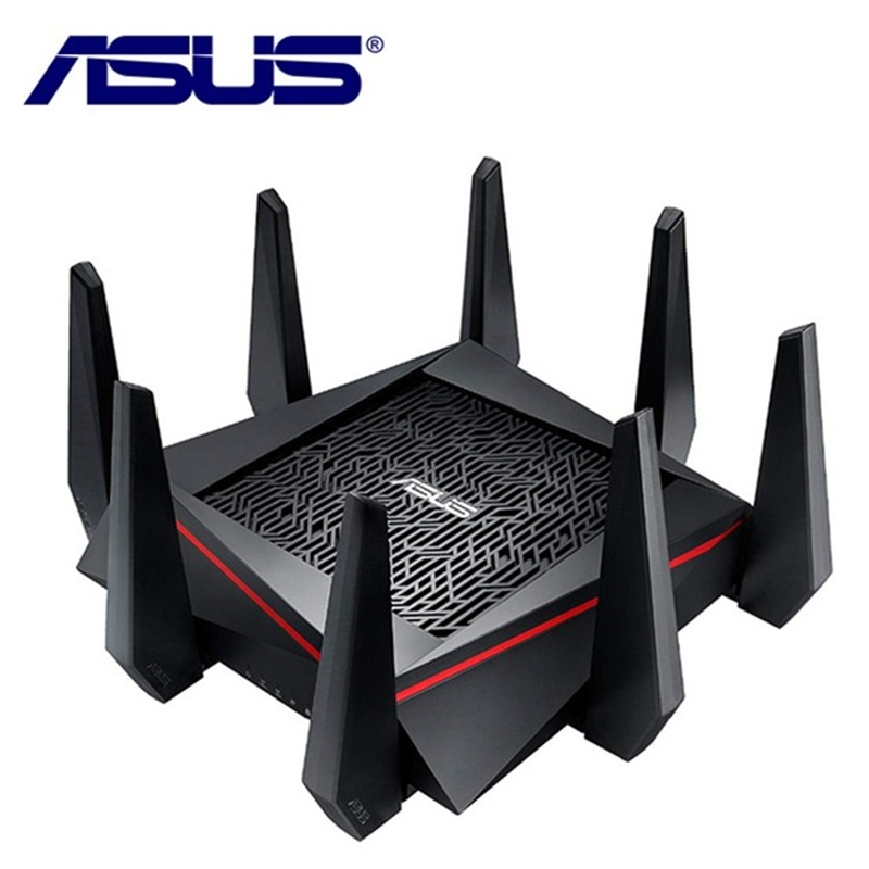 ASUS RT-AC5300 5334 Mbps Wireless Router AC5300 2.4 ghz/5 ghz Tri-Band MU-MIMO Gigabit Router Wifi Repeater