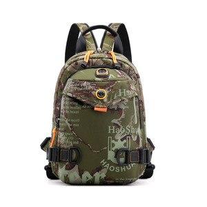 Image 3 - New Designer Fashion Men Backpack Mini Soft Touch Multi Function Small Backpack Male Shoulder Bag Men Purse