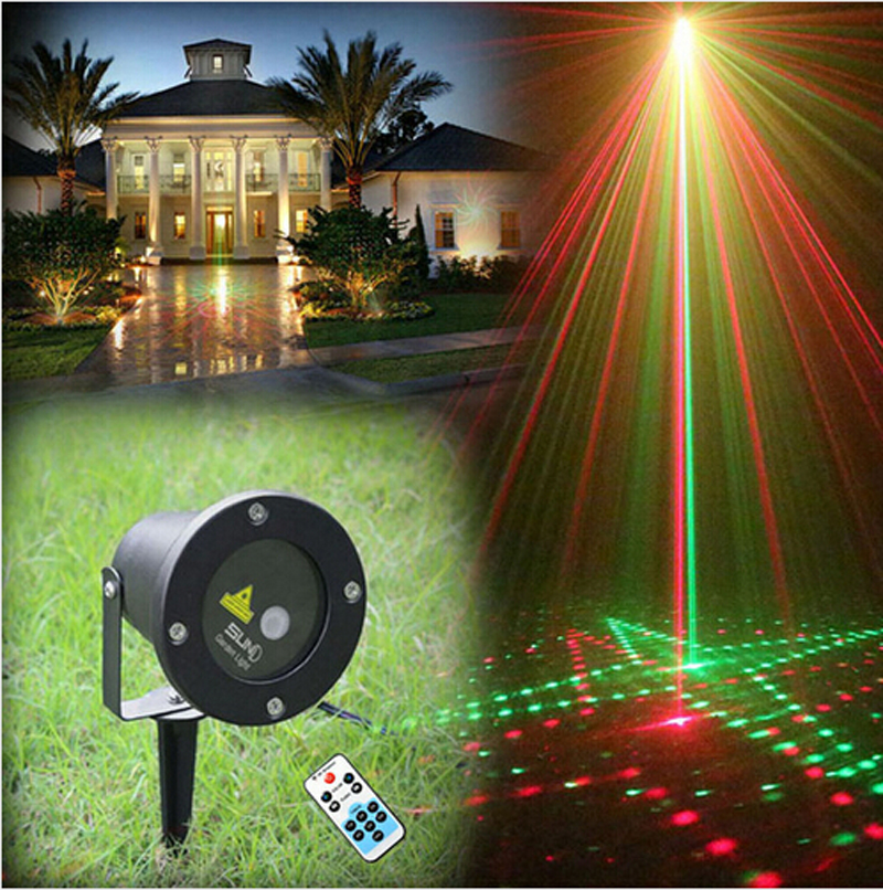 remote control20in1 rg waterproof latest elf laser light outdoor christmas lights projector garden landscape decorative lights in stage lighting effect - New Outdoor Christmas Lights
