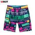 LKBEST New fashion summer beach shorts for men vacation brand board shorts men pure cotton mens swimwear shorts N1463
