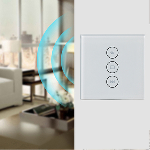 Image 5 - Wifi タッチカーテンスイッチ壁スイッチ音声制御による Alexa/Google の電話制御電動カーテンモータースマートホーム EU/米国