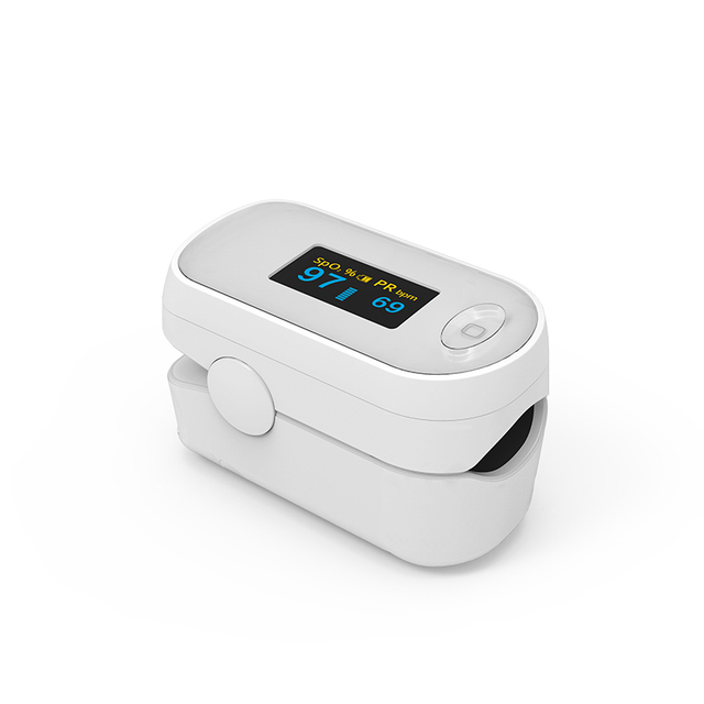 BOXYM Medical Portable Pulse Oximeter OLED Pulsioximetro Spo2 blood oxygen Heart Rate Monitor Oximetro De Dedo Household Health 4
