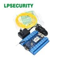LPSECURITY 16 каналов LAN WAN Wi Fi реле доска управление Лер/релейный модуль Wi-Fi/беспроводной Дистанционное управление Умный дом Реле Переключатель