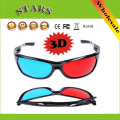 Red&Blue plastic frame video glasses anaglyphic Movie DVD Game moive gam 3D Glasses for 3D TV Projector,Wholesale Free Shipping