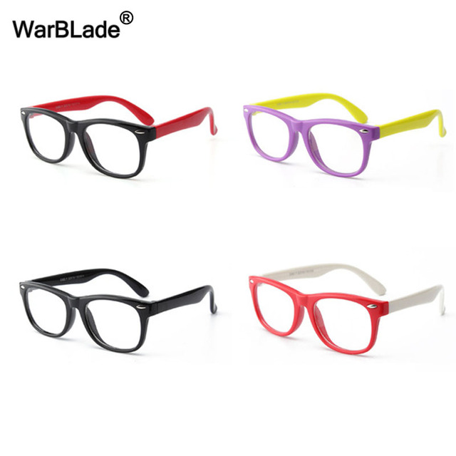 5b7657c24a8 WarBLade Silicone Flexible Kids Eyeglasses Frame TR90 Child Glasses  Unbreakable Safe Boys Girl Optic Myopia Glasses