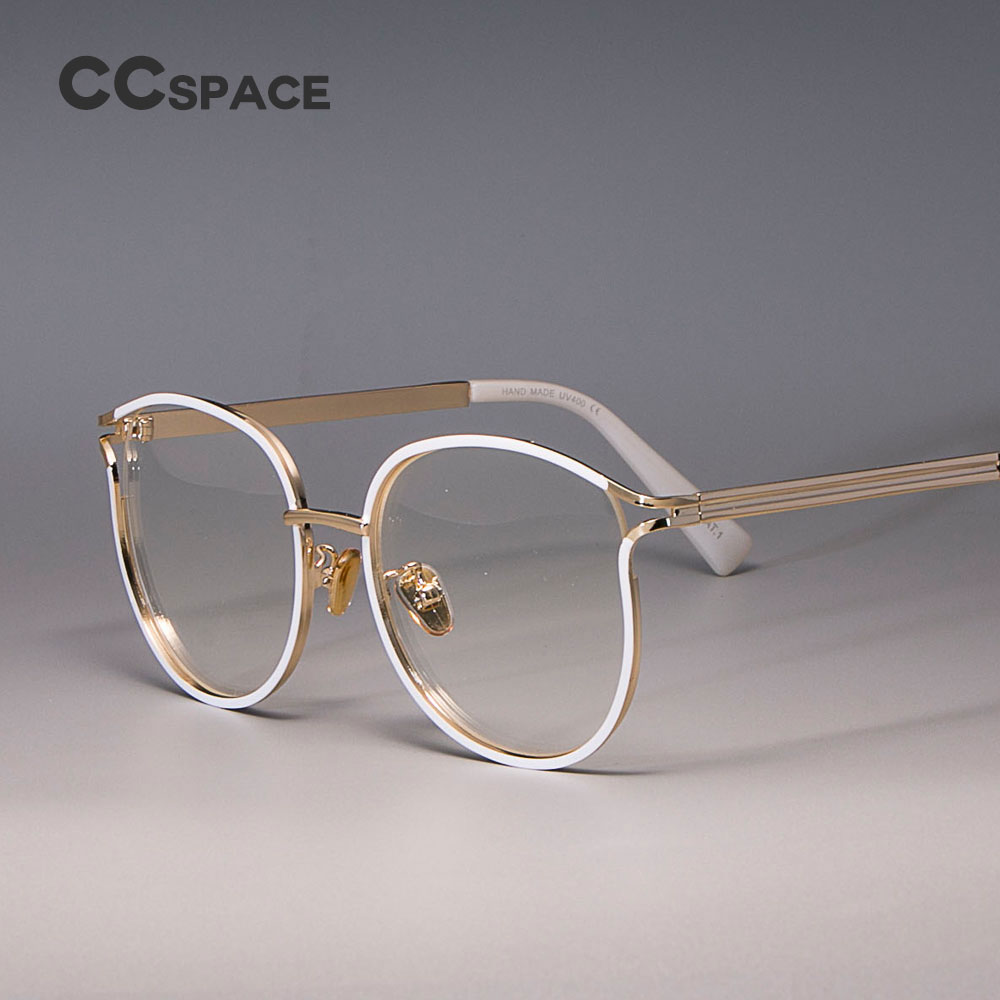 Glasses Frames Eyewear Cat-Eye Optical-Fashion Women Ladies For 45257