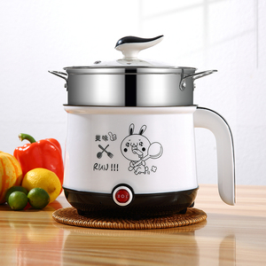 Image 4 - 220V Mini Rice Cooker Electric Cooking Machine Single/Double Layer Available Hot Pot Multi Electric Rice Cooker EU/UK/AU/US