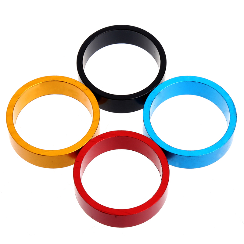 1/10MM Aluminum MTB BMX Road Bike Bicycle Cycling Headset Stem Spacer 4-Color