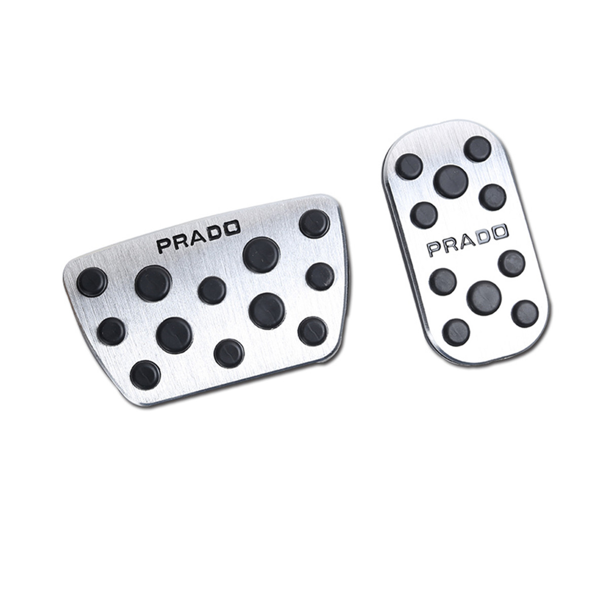 Car Accelerator and Brake Pedals for Toyota Land Cruiser Prado 150 2010 2012 2013 2014 2015 2016 2017 2018 AT Accessories-in Chromium Styling from Automobiles & Motorcycles