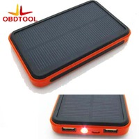 Solar Charger Power Bank Waterproof Portable Power 20000mA Dual Interface Rechargeable External Battery For All Phones