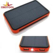 20000mA Energía Solar Power Bank Cargador Portátil A Prueba de agua de Interfaz Dual Recargable Batería Externa para Todos Los Teléfonos con LED