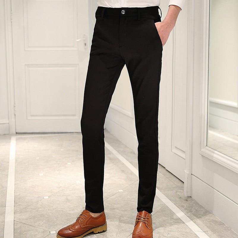 Spring Dan Summer Lelaki Kasual Pakaian Seluar Slim Skinny Men Suit - Pakaian lelaki - Foto 2