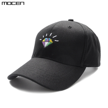 2a84126f6a1 2018 Top Fashion Solid Adult Unisex New Arrival Diamonds Gorras Snapback Baseball  Caps For Casual Outdoor