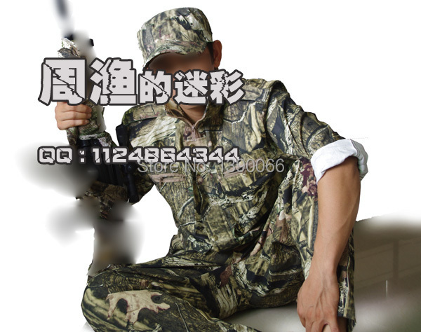 Free shipping! Outdoor Sports SniperTactical Camouflage Hunting clothes Ghillie Suits  jacket & Pants  cap 3PCS for hunt hiking all seasons tactical camouflage clothing ghillie suit outdoor sports cotton hunting clothes shirt pants cap for fishing camping