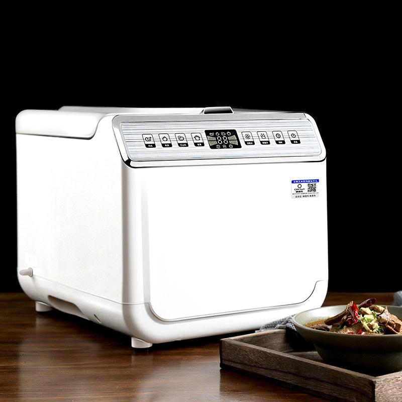 Anilhas vegetais máquina de Lavar Roupa de ozônio do agregado familiar totalmente automático de esterilização de frutas e vegetais de limpeza purificante
